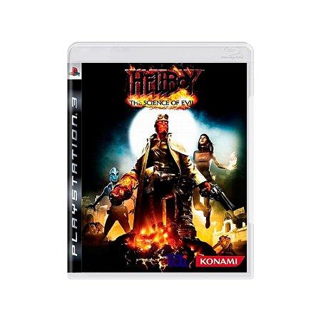 Jogo Hellboy: The Science of Evil - |Usado| - PS3