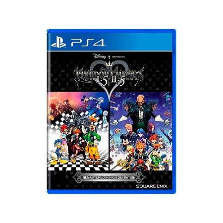 Kingdom hearts HD 1.5 + 2.5 Remix - Usado- PS4