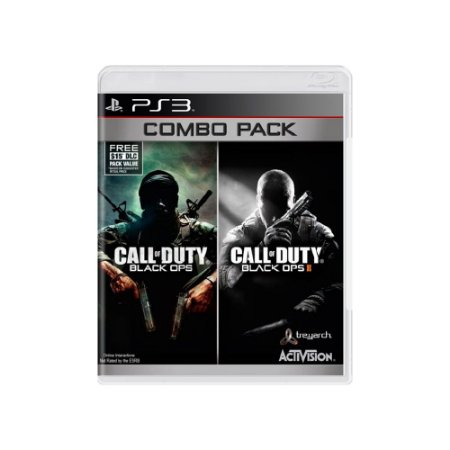 Call Of Duty: Black Ops (Combo Pack) - Usado -  PS3