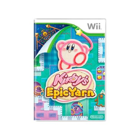 Kirby's Epic Yarn - Usado - Wii