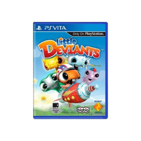 Little Deviants - Usado - Ps Vita