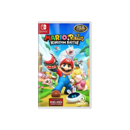 Mario + Rabbids Kingdom Battle - Usado - Switch