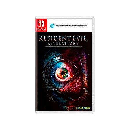 Resident Evil: Revelations - Usado - Switch