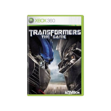 Transformers The Game - Usado - Xbox 360