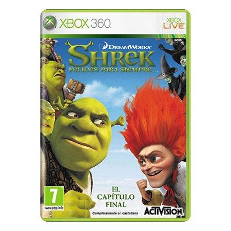 Shrek Forever After - Usado - Xbox 360