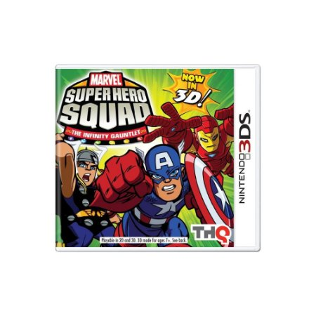 Marvel Super Hero Squad: The Infinity Gauntlet - Usado - 3DS