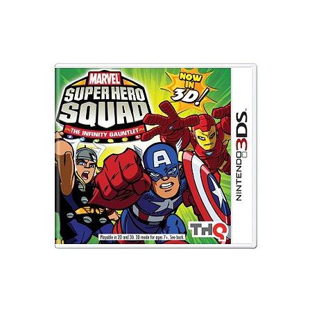 Jogo Marvel Super Hero Squad: The Infinity Gauntlet - |Usado| - 3DS