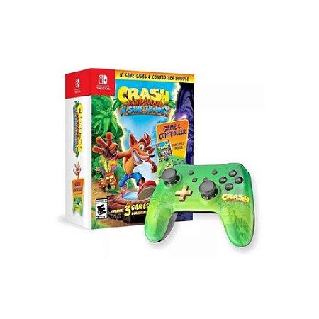 Controle Pro (Crash Bandicoot N'Sane Trilogy) - Switch