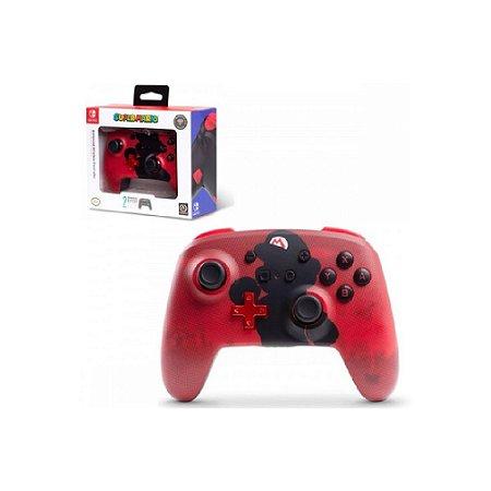 Controle PowerA com fio (Super Mario) - Switch
