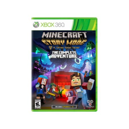 Minecraft Story Mode The Complete Adventure Usado - Xbox 360