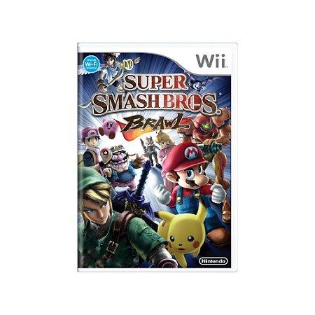 Super Smash Bros: Brawl - Usado - Wii