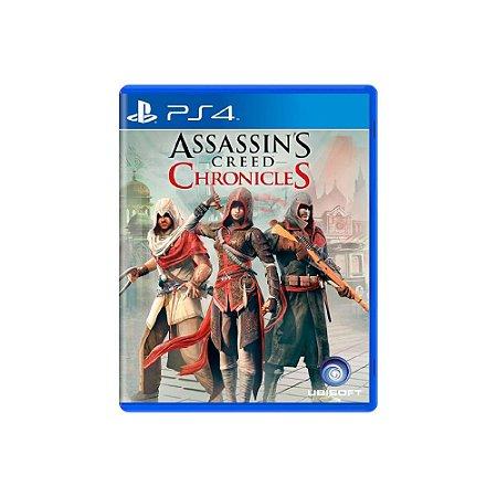 Assassin's Creed: Chronicles - Usado - PS4