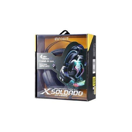 Headset Gamer X-Soldado GH-X8000 - Infokit