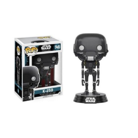Boneco Funko Pop Star Wars Rogue One K-2SO 146 - Usado
