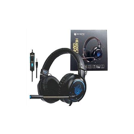 Headset Gamer BMAX BM 215 (Com Fio) - PS4, Xbox One e PC