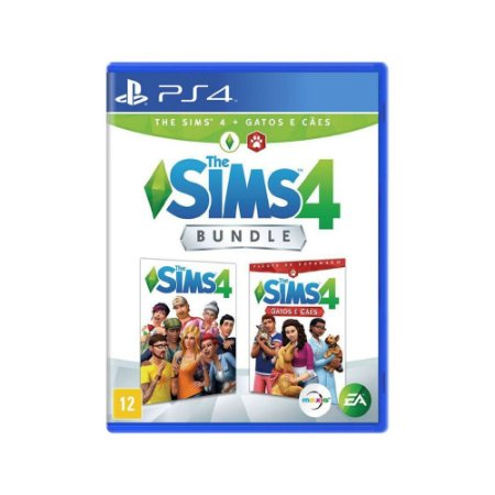 The Sims 4 + Gatos e Cães (Bundle) - PS4