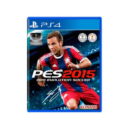Pro Evolution Soccer 2015 (PES 15) - Usado - PS4
