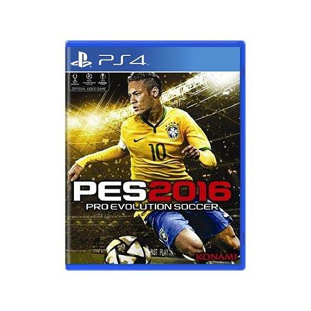 Pro Evolution Soccer 2016 (PES 2016) - Usado - PS4