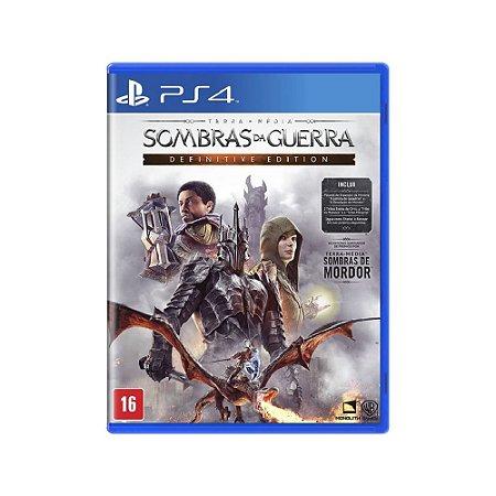 Terra-média: Sombras da Guerra Definitive Edition - PS4
