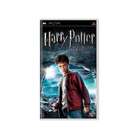 Harry Potter and the Half-Blood Prince - Usado - PSP