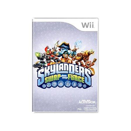 Skylanders Swap Force - Usado - Wii