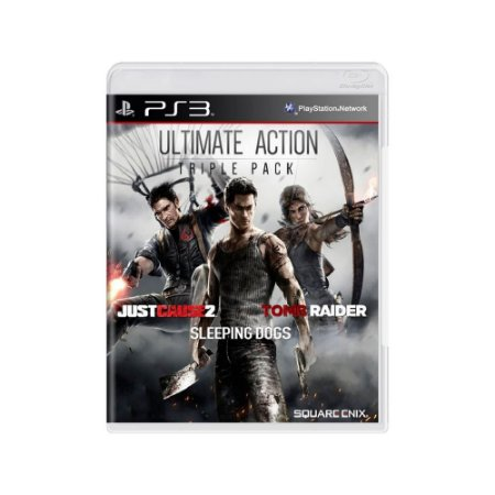 Pacote Ultimate Action Triple Pack - Usado - PS3