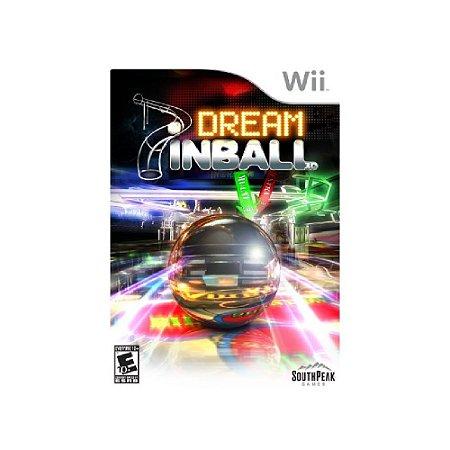 Dream Pinball 3D - Usado - Wii