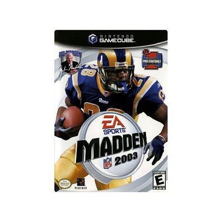 Madden NFL 2003 - Usado - GameCube