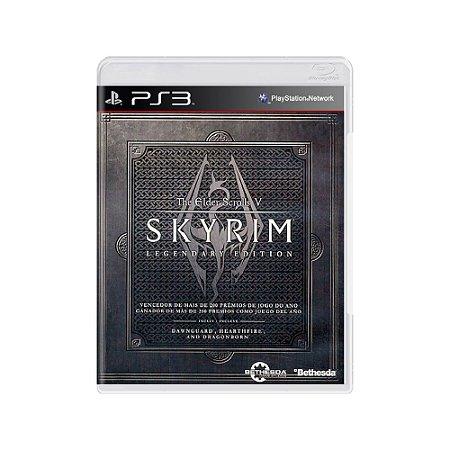 The Elder Scrolls V Skyrim (Legendary Edition) - Usado - PS3