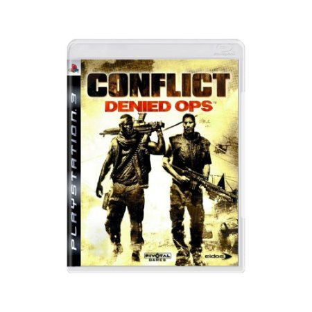 Conflict Denied Ops - Usado - PS3
