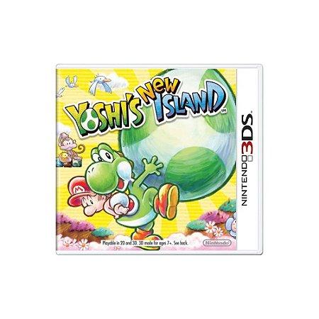 Yoshi's New Island (Sem Capa) - Usado - 3DS