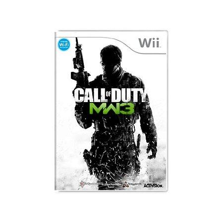 Call of Duty: Modern Warfare 3 - Usado - Wii