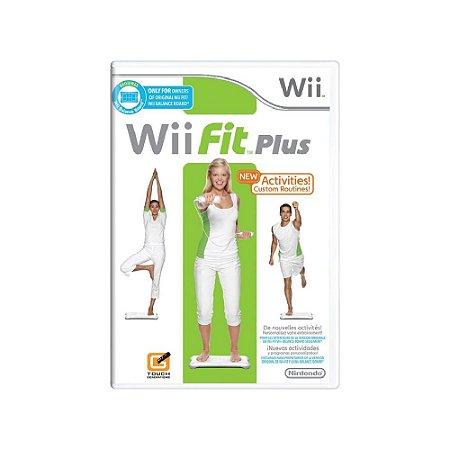Wii Fit Plus + Balance Board - Usado - Wii