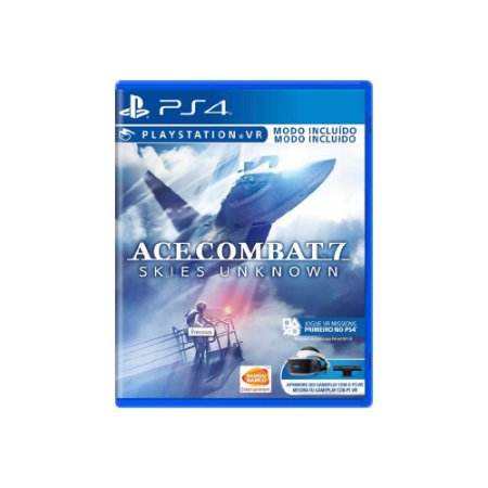 Ace Combat 7 Skies Unknown - Usado - PS4
