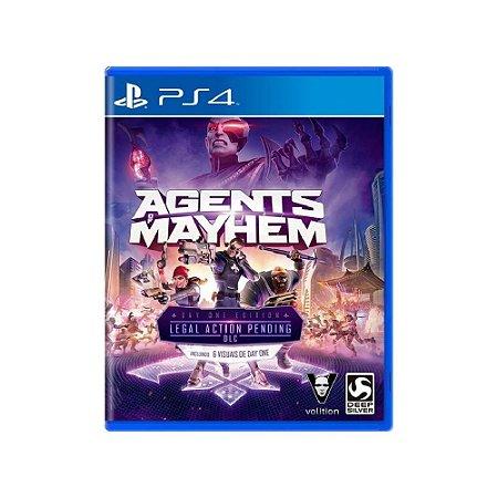 Agents of Mayhem - Usado - PS4