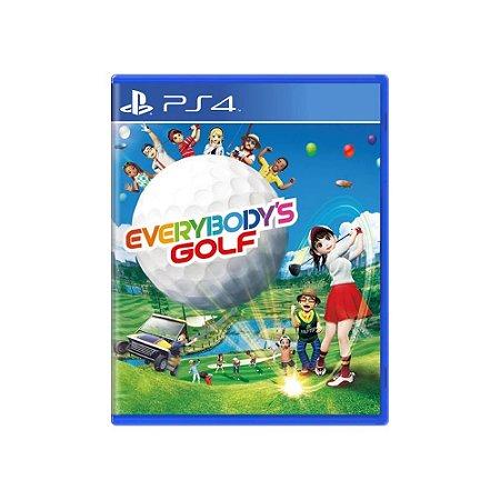 Everybody's Golf - Usado - PS4