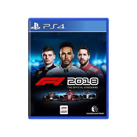 F1 2018 - Usado - PS4