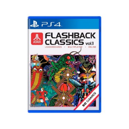 Atari Flashback Classics Vol. 1 - Usado - PS4