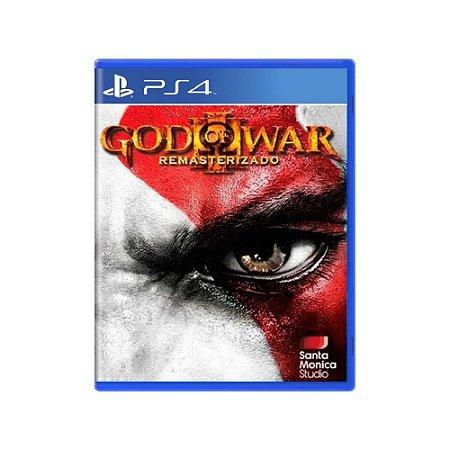 God of War III Remasterizado - Usado - PS4