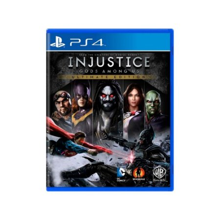 Injustice Gods Among Us (Ultimate Edition) - Usado - PS4