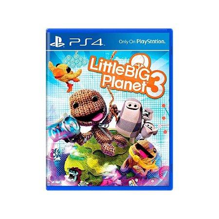 LittleBigPlanet 3 - Usado - PS4