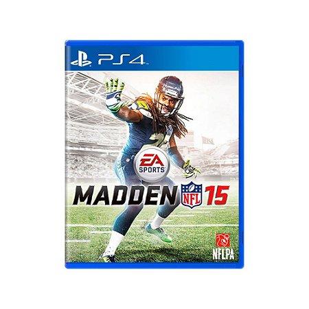Madden NFL 15 - Usado - PS4