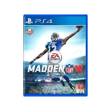 Promoção - Madden NFL 16 - Usado - PS4