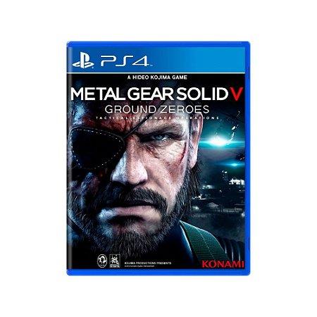 Metal Gear Solid V Ground Zeroes - Usado - PS4