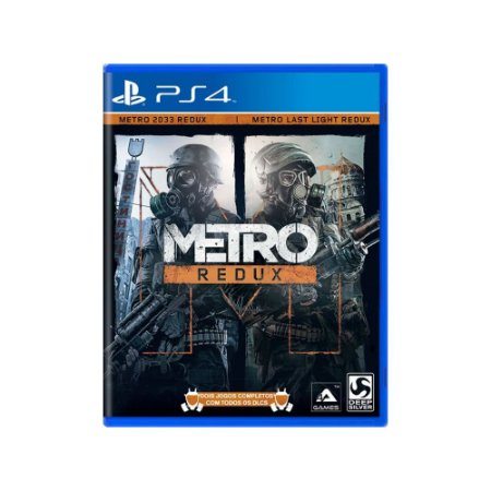 Metro Redux - Usado - PS4