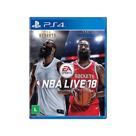 NBA Live 18 - Usado - PS4