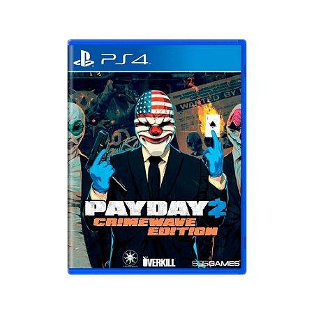 Payday 2 (Crimewave Edition) - Usado - PS4