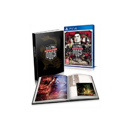 Sleeping Dogs (Definitive Edition) + Artbook - Usado - PS4