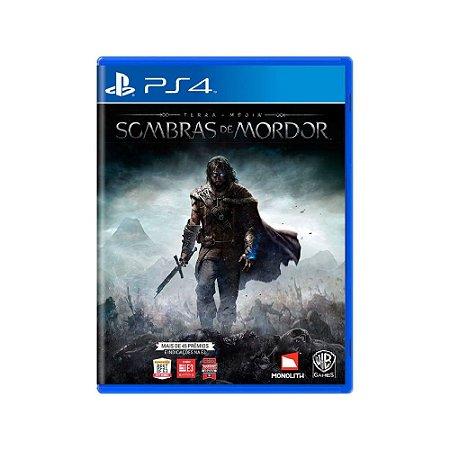 Terra-Média: Sombras de Mordor - Usado - PS4