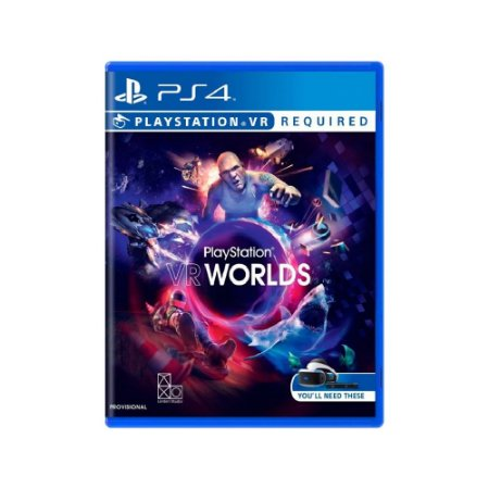 PlayStation VR Worlds - Usado - PS4